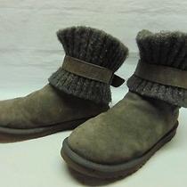 Ugg Australia 1006013 Cambridge Gray Slip on Cozy Boots Casual Women Shoes Sz 9 Photo