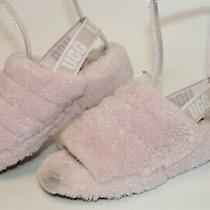 Ugg Australia 1095119 Fluff Yeah Womens 8 39 Pink Sheepskin Slippers Shoes Photo