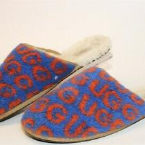 Ugg Australia 1101232 Scuff Pop Mens 11 44 Signature Logo Slippers Mules Shoes Photo