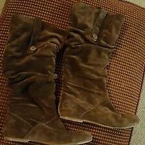 Ugg Australia 1948 Highkoo Ii Suede Leather Brown Women's Boots 8 Photo