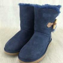Ugg Australia  25 Cm Vy Suede Mouton Us 7 Navy Boots From Japan 793 Photo