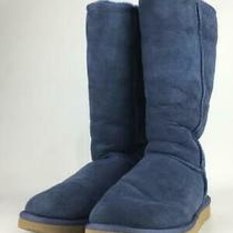 Ugg Australia  26 Cm Vy Fur F8809g Us 8 Navy Boots From Japan 1236 Photo