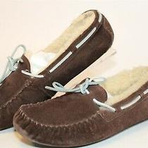 Ugg Australia 5133 Dakota Womens 8 39 Brown Sheepskin Moccasins Slippers Shoes Photo