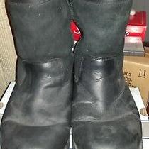 Ugg Australia 5485 Beacon Leather & Sheepskin Short Boots Men's Shoe Size 13 Photo
