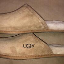 Ugg Australia 5776 Chestnut Classic Scuff Suede Shearling Slippers Mens Sz. 12 Photo