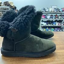 Ugg Australia 5803 Womens Bailey Button Black Boots 2 Ii Photo