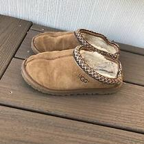 Ugg Australia 5955 Tasman Slippers Womens Size 4 Brown Leather Indoor Outdoor Photo
