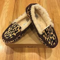 Ugg Australia Ansley Exotic Cheetah Womens Slipper Moccasin Size 10 Photo