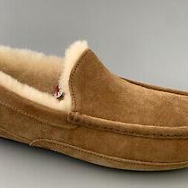 Ugg Australia Ascot Suede Slippers Men Us8 110 5375 Chestnut 166 Nwt Photo