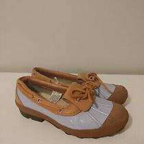 Ugg Australia Ashdale Blue Tan 1993 Duck Boot Us Size 6 Leather Rain Shoes F34 Photo