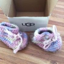 Ugg Australia Baby Crochet Infants Size M Photo