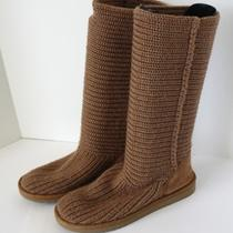 Ugg Australia Beige Cardi Boot - Size 9 Photo