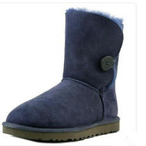 Ugg Australia Boot Bailey Button Navy Boots 5803 Womens Size 8 Photo