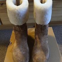 Ugg Australia Boots W Beckham Chestnut Size 8 Like New Photo