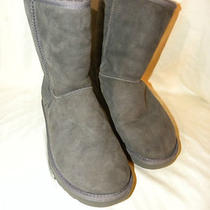 Ugg Australia Boots    Women's Classic Gray   Size 9 on Sale  Photo