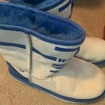 Ugg Australia Boy's Bb8 Classic Boots - 5 Youth - Worn Twice Before Outgrowning Photo