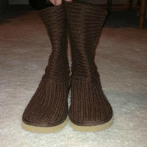 Ugg Australia Brown Sweater Boots Size 8 in Excellent Condition Very Light Use Photo
