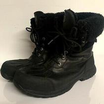 Ugg Australia Butte Mens Sz 13 Waterproof Leather Winter Boots 5521 Vibram Black Photo