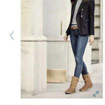 Ugg Australia Classic Aimee Woman's Boots Size 8 Us - Black Photo