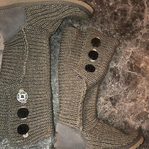 Ugg Australia Classic Cardy 5819 Gray Knit Tall Sweater Boots Size 6 Photo