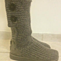 Ugg Australia Classic Cardy Crochet Boots Size 36 Europe Photo