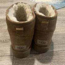 Ugg Australia Classic Mini Ii Winter Boots for Women Size 9 - Chestnut Photo
