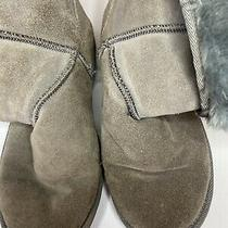 Ugg Australia Classic Short Boots Women's Size 7 Gray Sheepskin Suede Photo