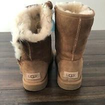 Ugg Australia Classic Short Ii Boots for Women Size 7 - Chestnut Photo