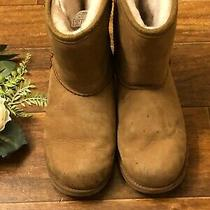 Ugg Australia Classic Tall 1019646k Women's Size 2 Chestnut Suede Winter Boots Photo