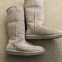 Ugg Australia Classic Tall Boots - Womens Size 8 Chestnut Photo
