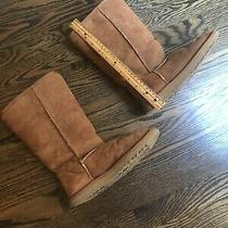 Ugg Australia Classic Tall Chestnut  Suede Womens Boots Size 6 Photo