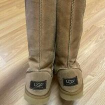 Ugg Australia Classic Tall Ii Womens Winter Boots - Size 8 Chestnut Photo