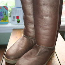 Ugg Australia  Classic Tall  Metallic Boots Photo