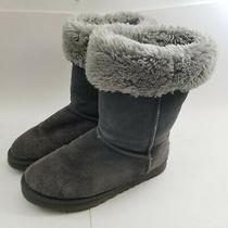 Ugg Australia Classic Tall Sheepskin Suede Boots Women's Size W 6  Photo