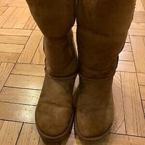 Ugg Australia Classic Tall Womens Winter Boots - Size 8 Chestnut Photo