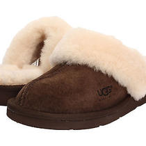 Ugg Australia Cozy 5614 Espresso Brown 7 Us - 5.5 Uk - 38 Eur Women Slipper Cute Photo