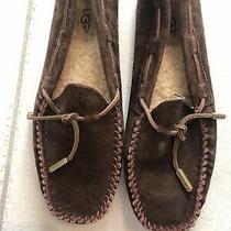 Ugg Australia Dakota 1650 Brown  Loafers Slippers Suede Slip on Shoes Sz 7 Euc Photo