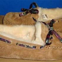 Ugg Australia Dakota Floral Grunge Chestnut Suede Slippers Size Us 9 New 1007521 Photo