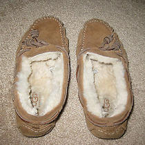 Ugg Australia Dakota Moccasin Slippers - Size 1 Photo