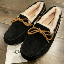 Ugg Australia Dakota Moccasin Slippers Suede Shoes Women's Size 7 Photo