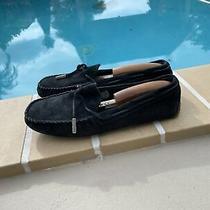 Ugg Australia Dakota Moccasins Driving Shoes Womens Slippers Loafers Black Sz 7 Photo
