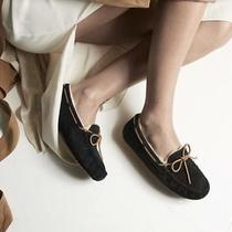 Ugg Australia Dakota Women's Classic Suede Tie Slipper Black Size 7 Photo