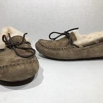 Ugg Australia Datoka Womens Size 5 Brown Moccasin Slippers Shoes Zh-1765 Photo