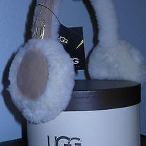 Ugg  Australia  Earmuffs  Sheepskin New With Box  Photo