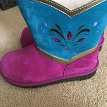 Ugg Australia Girl's Elsa Carnation Boots 4 Youth - New Photo