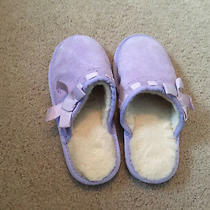 Ugg Australia Girl's Purple Slippers -13 T - Gently Used Photo