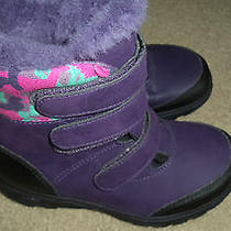 Ugg Australia Girl's Purple Snow Boots 13t - New Photo