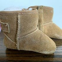 Ugg Australia Girls Jessie Bow Ii Chestnut Suede-Leather Shearling Boot  0/1 Photo