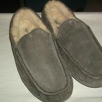 Ugg Australia Grayish Slippers Soft Fluffy Lining / Mens  Sz. 17  Photo