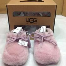 Ugg Australia I Pup Rose Quartz Booties Size 4/5 12-18 Month Photo